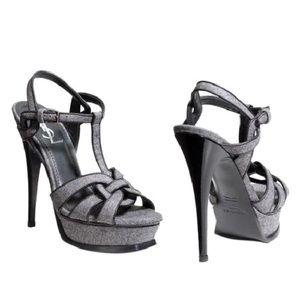 YSL Saint Laurent Tribute platform sandals 41